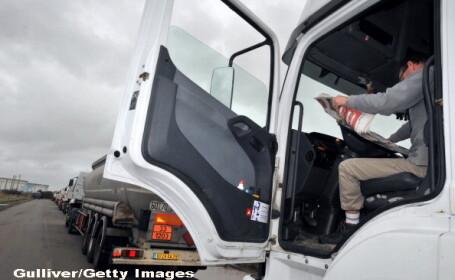sofer de camion