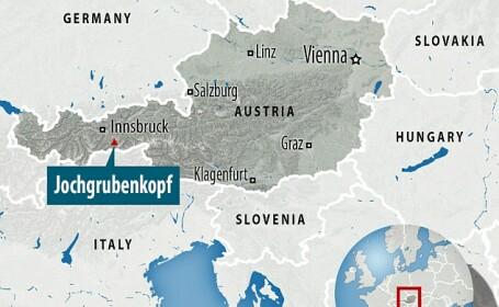 harta avalansa Austria
