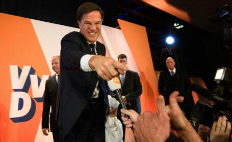 ALEGERI IN OLANDA: Extremistul Geert Wilders, invins de partidul premierului Mark Rutte. Criza cu Turcia, decisiva la vot