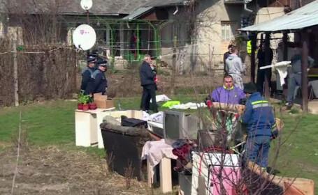 evacuati Targu Jiu