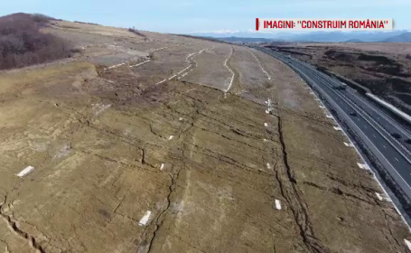 Noi probleme create de Dealul Bucium, care ameninta Autostrada Sibiu-Orastie. Efectul defrisarilor aprobate de Ocolul Silvic