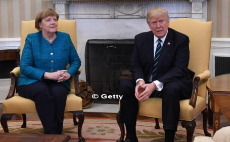 """Trump scandalizeaza din nou Germania. """"Nota de plata"""" provocatoare pe care presedintele SUA a inmanat-o Angelei Merkel"""