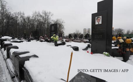 mormantul lui Sergei Magnitki
