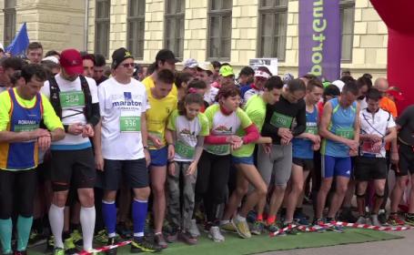 500 de oameni au alergat la un maraton caritabil in Aiud. Cine este romanul care a participat la 171 de astfel de competitii