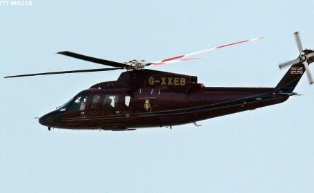 Un elicopter privat este dat disparut in zona Marii Irlandei. Cinci persoane se aflau la bordul aparatului de zbor. FOTO