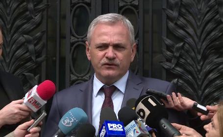 Liviu Dragnea: Chiar daca sunt dezamagit, nu se pune problema demiterii lui Tudorel Toader; decizia o va lua Grindeanu