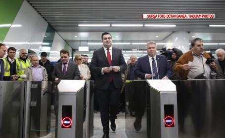 inaugurare statii noi de metrou
