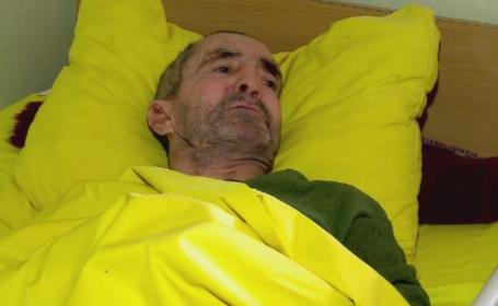 Barbatul care locuieste de 7 luni in Spitalul din Medgidia. De ce nimeni din familia lui nu il ia acasa
