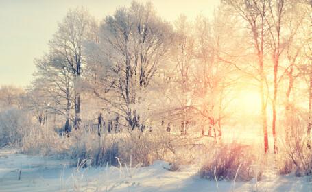 vremea iarna soare