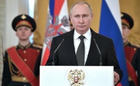 Vladimir Putin spune că a ordonat doborârea unui avion cu 110 pasageri la bord, în 2014
