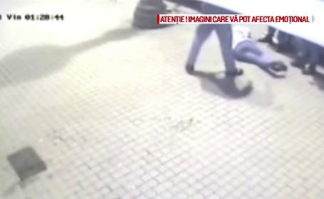 A fost reținut al treilea bătăuș dintr-un bar din Arad. Imaginile surprinse de camere