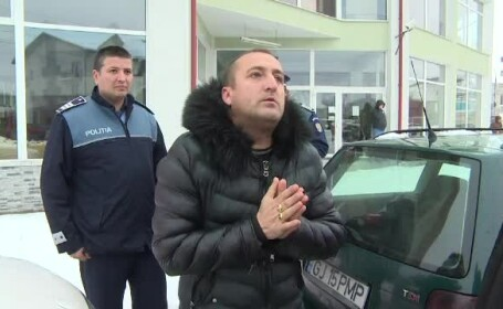 Scandal la un magazin din Târgu Jiu. Un client a scos pistolul