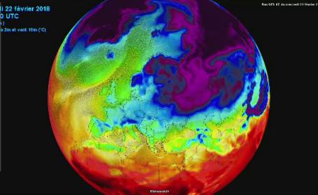 incalzire globala, temperaturi, climatolog, gheata