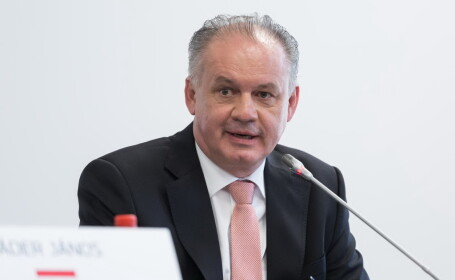 Preşedintele slovac Andrej Kiska