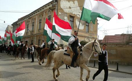 Ziua Maghiarilor de Pretutindeni, la Targu Secuiesc.