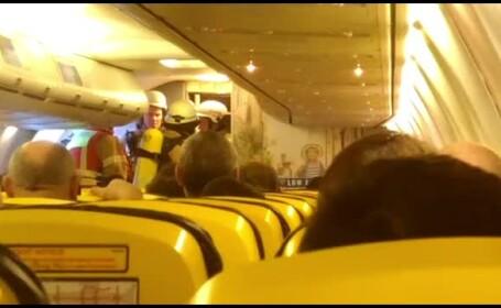 Incident într-o cursă Ryan Air Berlin-Bucureşti