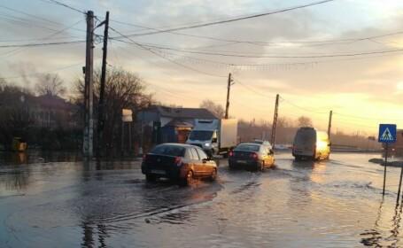 inundatii, teleorman, zapada,