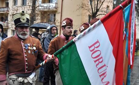 Manifestare dedicata 'Zilei Libertatii Secuilor', organizata la Targu Mures.