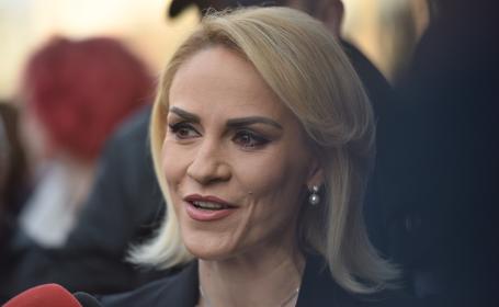 Gabriela Firea participă la congresul Partidului Social Democrat