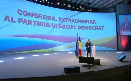 Serghei Stanisev la congresul PSD