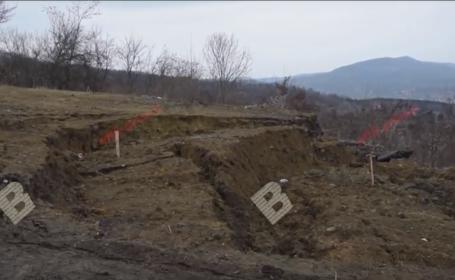 Alunecare de teren Bistrita