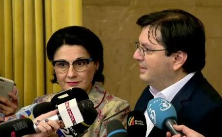 Ecaterina Andronescu si Nicolae Banicioiu