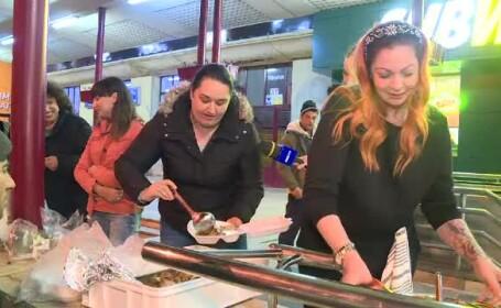 Gestul făcut de 4 doamne din Bucureşti pentru oamenii fără adăpost