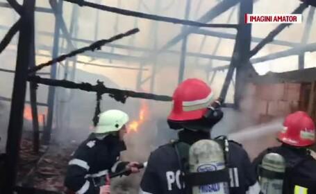 Incendiu într-o localitate constănțeană. Bărbat găsit carbonizat, în locuința sa