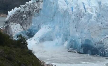 Momentul în care ghețarul \