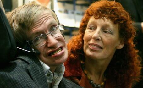 Stephen Hawking si sotia sa Elaine