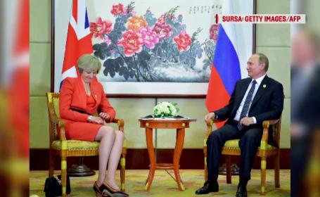 Theresa May, Vladimir Putin