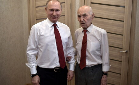 Primul șef al lui Putin din KGB a povestit cum l-a acceptat pe liderul rus în echipa lui