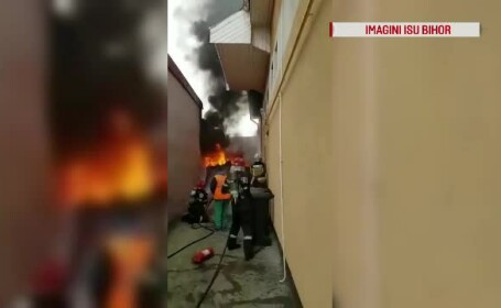 incendiu container