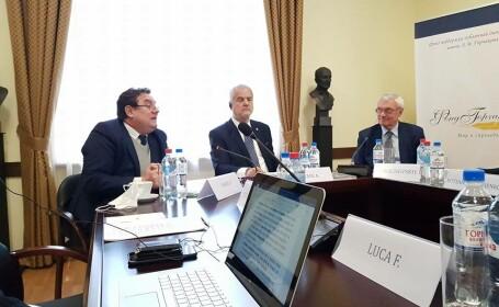 Dumitru Prunariu și Adrian Năstase au participat la o conferință în Moscova