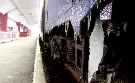 Elev lovit de tren în Gara de Nord din Ploieşti. Ce au declarat martorii