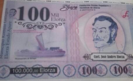 Orașul din Venezuela care a pus în circulație propriile bancnote