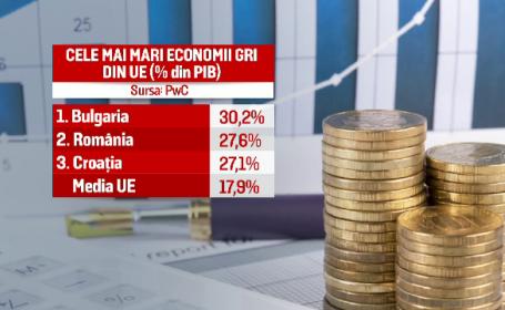 Economia gri a Romaniei