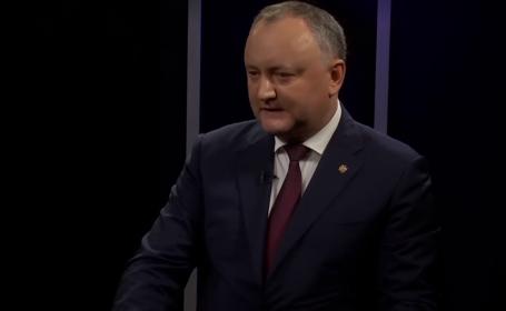 Igor Dodon a fost suspendat, după ce a refuzat să promulge 5 legi