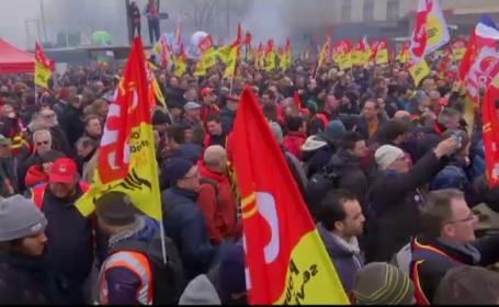 greve Franța