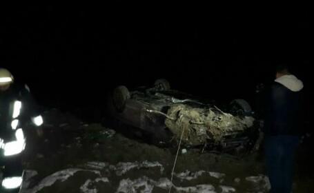 Accident grav în Timiș. Zece persoane au fost transportate la spital