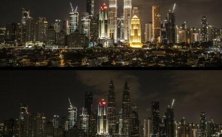 Cum s-a văzut Ora Pământului în Kuala Lumpur, Malaezia