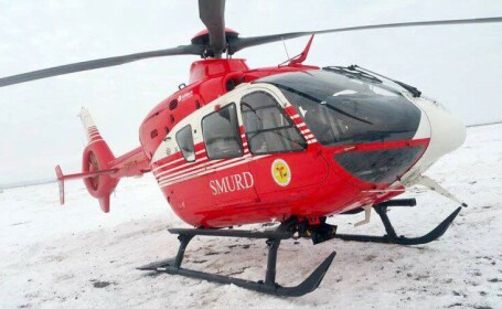 salvare elicopter SMURD
