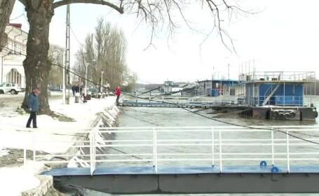 """Dunărea a depășit cota de atenție și crește periculos. """"Suntem cam speriați"""""""