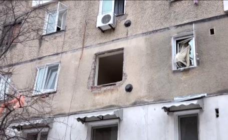 Bărbatul rănit în explozia din Buzău, în continuare în stare gravă. Apartamentele vecinilor, nelocuibile
