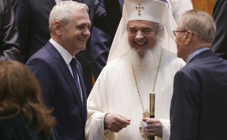 Liviu Dragnea, Patriarhul Daniel