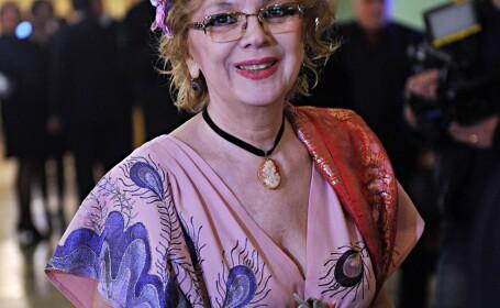 Actrita Aimee Iacobescu, la Gala Premiilor VIP pentru Artele Spectacolului Muzical 2011,