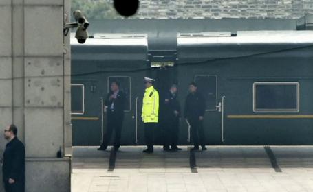 Kim Jong-un s-ar afla în China, în prima lui vizită oficială. Imaginile surprinse