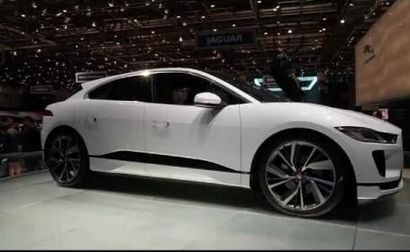 Mașini autonome Jaguar