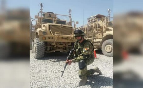 Vasile Mihalcia, militar Afganistan