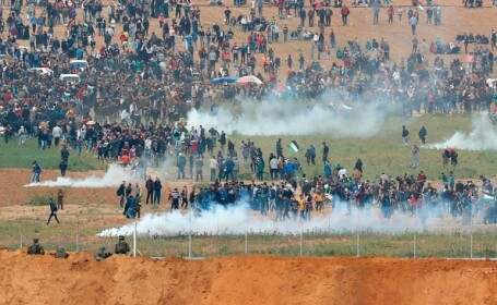 Armata israeliană a acționat în forță: 12 morți și 350 de răniți în rândul palestinienilor